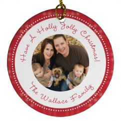 Custom Family Photo Christmas