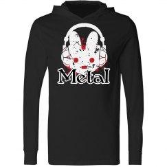 Metal Bunny Hoody
