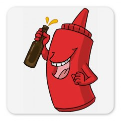 Ketchup/Beer Magnet