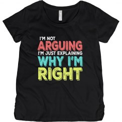 I'm Right Maternity Tee
