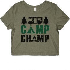 Camp Champ Cropped Tee