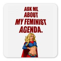 Feminist Agenda Magnet