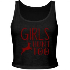 Girls Hunt Too Cropped Tank