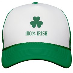 100% Irish St Pattys Hat