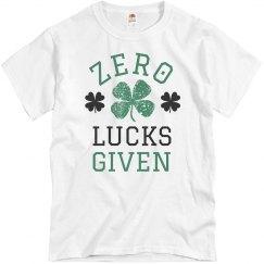 Zero Irish Lucks Given
