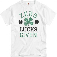 Zero Irish Lucks Given