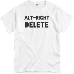 Alt-Right Delete Anti Racist