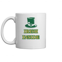 Irish Inside St. Patricks Drinkware