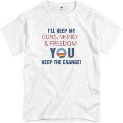 Keep My Guns,Money,Freedo