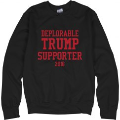 Trump's Deplorable Supporter