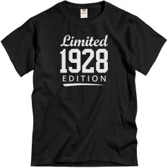 Limited 1928 edition