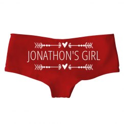 Custom Valentine's Day Panties