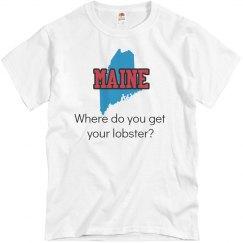 Maine Where U Get Lobster