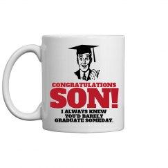 Graduate's Proud Dad