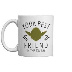Yoda Best Friend Space Mug