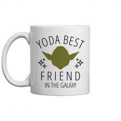 Yoda Best Friend Space Mug