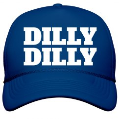 Metallic Dilly Dilly Trucker Hat