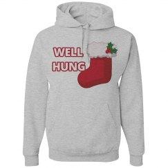 Well Hung Christmas Hoodie