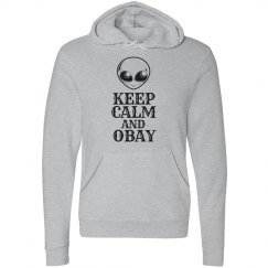 Obay the Gray Hoodie