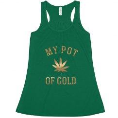 Metallic Irish 420 My Pot Of Gold