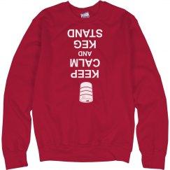 Keg Stand Sweatshirt