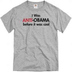 Anti- Obama First