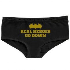 Real Bat Heroes Go Down