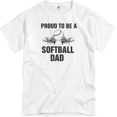 Proud to be a Softball Dad