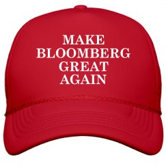 Make Bloomberg Great Again Funny Hat
