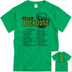 Shot Club Check-off Tshirt (Green)