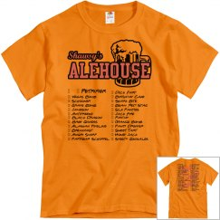 Shot Club Check-Off Tshirt (Orange)