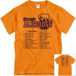 Shot Club Check-Off Tshirt (Orange)