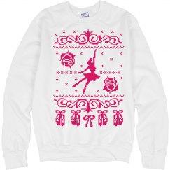 Dance Sweatshirt Girl Christmas