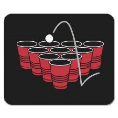 Beerpong Mousepad