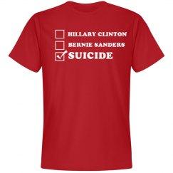 Hillary, Bernie, Suicide!