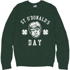 Happy St. O'Donald's Day