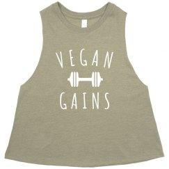 Gotta Get Those Vegan Gains