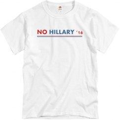 No Hillary '16