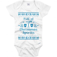 Full of Christmas Spirits Onesies