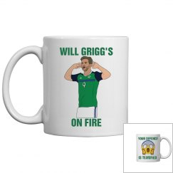 Will Grigg's On Fire Mug