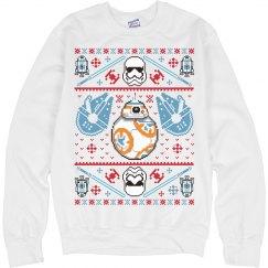 Jedi Ugly Xmas Sweater