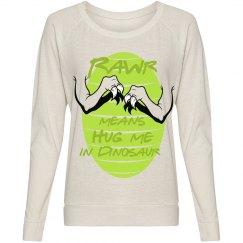 Rawr Dinosaur Hugs Sweater