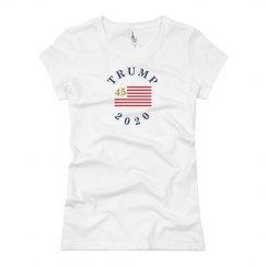 Trump 2020 Women's Presidential Campaign T-Shirt