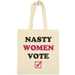 Nasty Women Vote Pro-Feminism