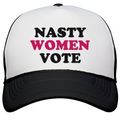 Nasty Women Vote Women's Rights