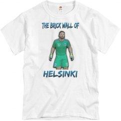 The brick wall of Helsinki