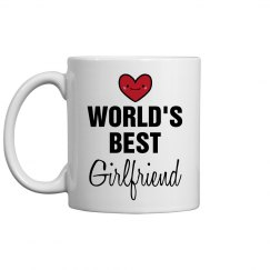 World's Best Girlfriend Vday Gift