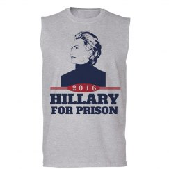 Hillary Clinton in Prison 2016