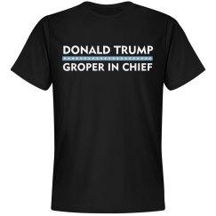 Donald Trump Groper In Chief
