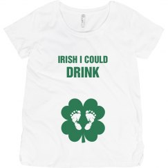Pregnant Irish I Could Drink
